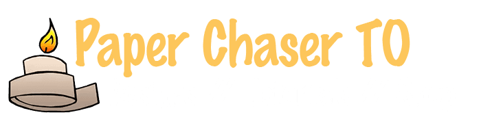 Paper Chaser TO logo