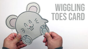 Wiggling Toes Card